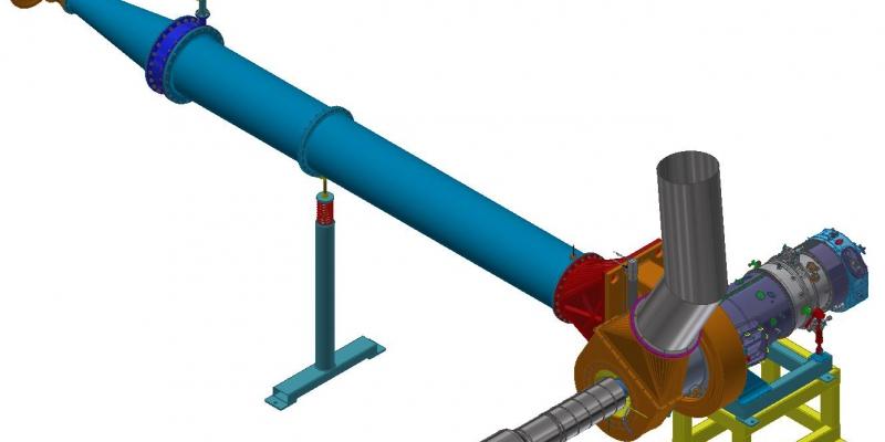KOMPRESOR – Odstředivý kompresor pro turbovrtulový motor H80
