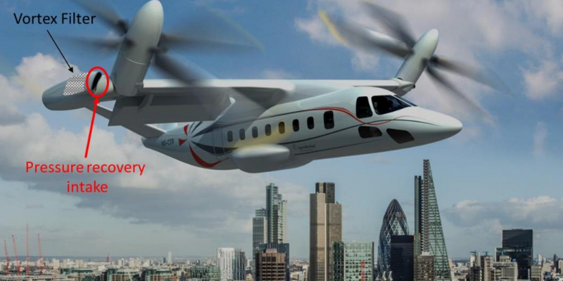 TRICEPS – Tilt Rotor Integrated Air Intake and Engine Protection Systems